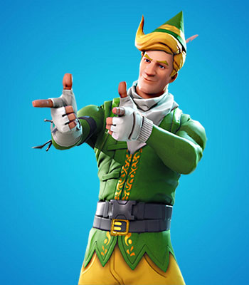 Codename E.L.F. Fortnite Skin For Free