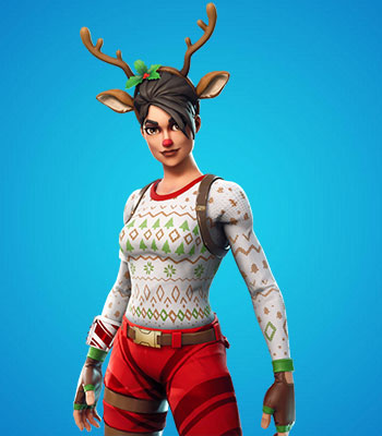 Red Nosed Raider Fortnite Skin For Free